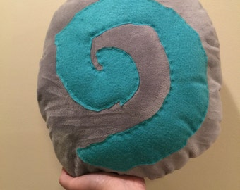 world of warcraft hearthstone throw pillow