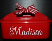 Personalized Shower Caddy - Must-Haves for Camp, Dorm Room & Sorority House - Best Selling Graduation Gift - Assorted Colors/Designs