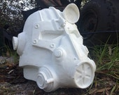 Fallout Inspired Power Armor Helmet Raw Cast