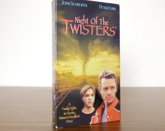 1996 Night of the Twisters VHS movie Devon Sawa TV Movie