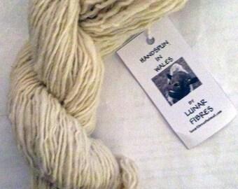 Cheviot X Blue Faced Leicester 100% wool handspun yarn 100g