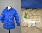 70s Down REI Puffer Goose Down Mountain Winter Jacket