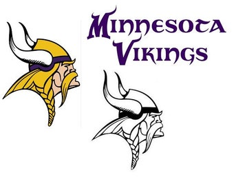 Minnesota Vikings Decal RTIC YETI Car Decal, Computer Decal, Window Decal, Cell Phone Decal