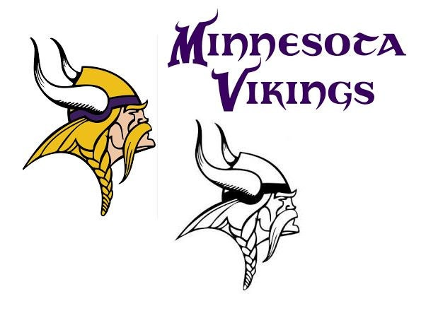 Minnesota Vikings Decal Rtic Yeti Car Decal Computer Decal