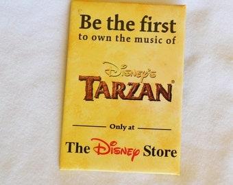 Disney's TARZAN  COLLECTIBLE pROMOTIONAL mOVIE PIN , The Disney Store