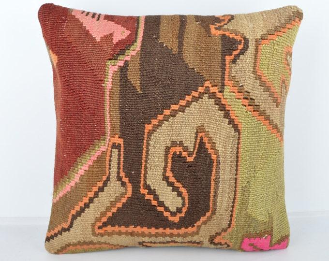 Wool Pillow, Kilim Pillow, KP1021,  Decorative Pillows, Designer Pillows,  Bohemian Decor, Bohemian Pillow, Accent Pillows, Throw Pillows