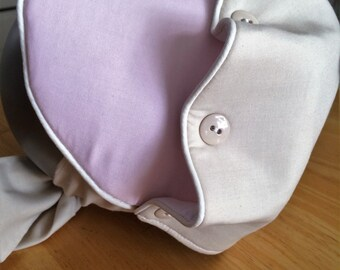 M2M WDW Ruffle Button Bonnet