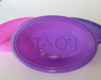 Flexible Silicone Soap Mold Oval