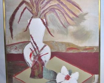 Large Lee Reynolds Studio Painting