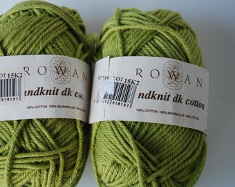 2 skeins Rowan handknit dk cotton