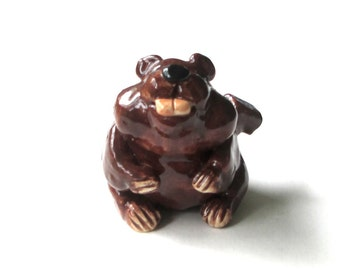 Beaver Clay Whistle