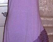 SALE,Boho Dress,  Purple Dress, Sun Dress, Romantic,