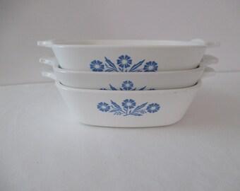 Corning Ware Cornflower Blue Petite Pans - (Set of 3)