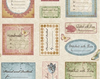 Blank Quilting - Simple Pleasures - Quilt Labels
