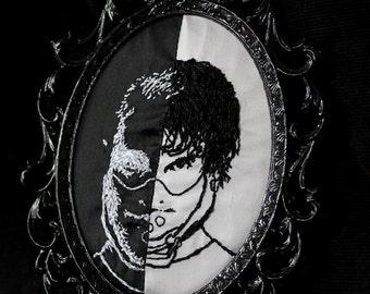 Hannibal x Will Graham x Hannigram x Murder Husbands Mask Framed Embroidery