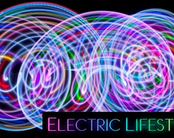 Free Shipping - Color Changing LED Hula Hoop - Lucid Dream - PolyPro