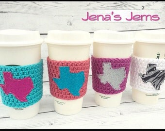 Texas coffee sleeve discounted 4 pack