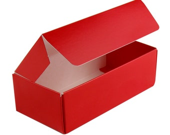 Red  Favor Box  Bakery  Boxes - ( 18)  1/2 lb  Candy Boxes for Party Favors, Candy and Treats  Hoilday Favorites