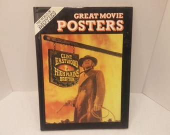 Great Movie Posters, Published by Galahad Books, New York, 1982, 64pp., DJ, VF