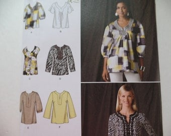 Blouse Sewing Pattern UNCUT Simplicity 2696 Sizes6-14