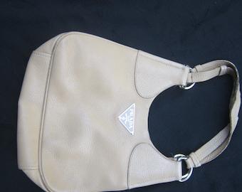 Prada Authentic  Vintage Camel Colored Shoulder Bag