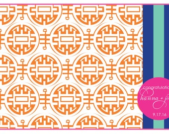 Asian inspired Placemats