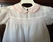 Vintage infant dress