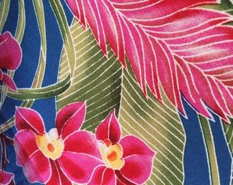 Tropical Print Timeless Treasures fabric