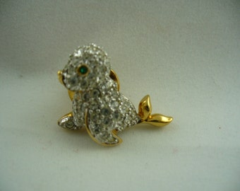 Swarovski Bird Pin