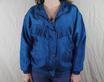 Vintage Silk Jacket Size Small