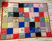 Pretty Parisian Baby quilt
