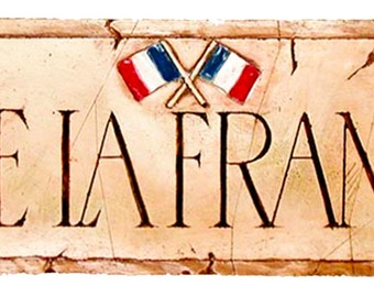 Vive La France French Wall Decor