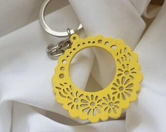 Boho Purse Accessories, Ornate Zipper Pull, Choose Your Color