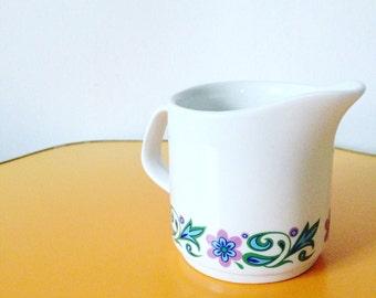 Vintage Floral Milk Jug