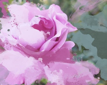 "Fresh pink flower. Canvas Print by Irena Orlov 24"" X 36"""