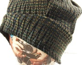 Recycled Sweater Knit Slouch Hat