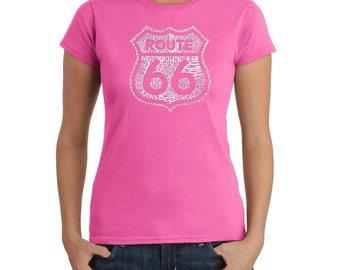 Women's T-shirt - Route 66 - Get Your Kicks