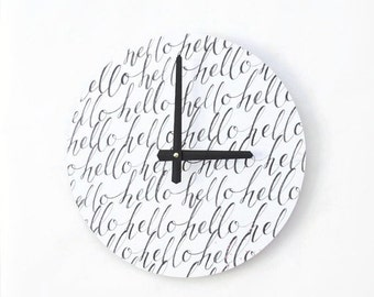 Sale, Sale, Modern Wall Clock, Trending Art,  Housewares, Home and Living, Unique Wall  Clock