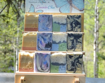 Soap Display Stand - collapsible, portable display, retail display, market display, craft show display