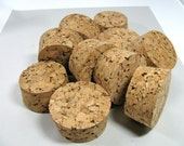 """Corks, 5 vintage corks, 2 1/2"""" wide, 1 1/4"""" high, perfect condition"""