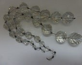 Antique Chandelier Crystals , 2 Strands, Pampilles,  From 1920's  Chandelier