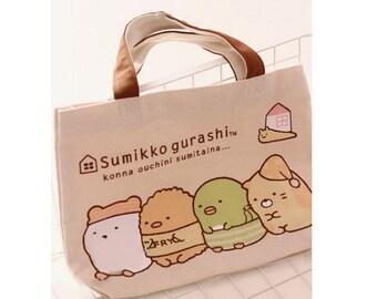 DIY Sewing Little Tote Bag Sumikko gurashi