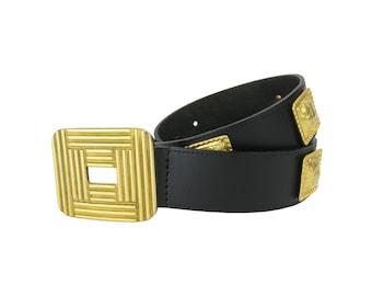 PIERRE CARDIN Vintage Leather Belt
