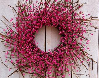 Spring Wreath Spring Front Door Wreath Beach Wreath Summer Wreath Spring  Summer