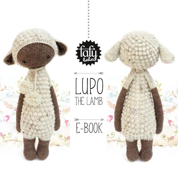 Amigurumi Patterns Lalylala : LUPO the lamb / sheep lalylala crochet pattern / amigurumi