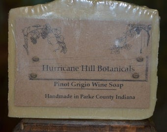 Pinot Grigio Wine Soap-All Natural-Handcrafted