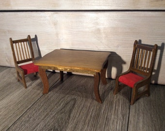 Hello Dolly Dining Table Set Table and Two Chairs