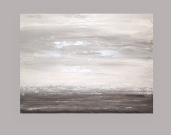 Art,Acrylic,Paintings,Abstract Art, Abstract Painting,Painting,Art, by Ora Birenbaum Touch of Gray 36x48x1.5""