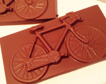 Chocolate Bicycle Bars x 2 pieces