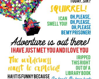 "disney pixar ""up"" quotes with balloons..."
